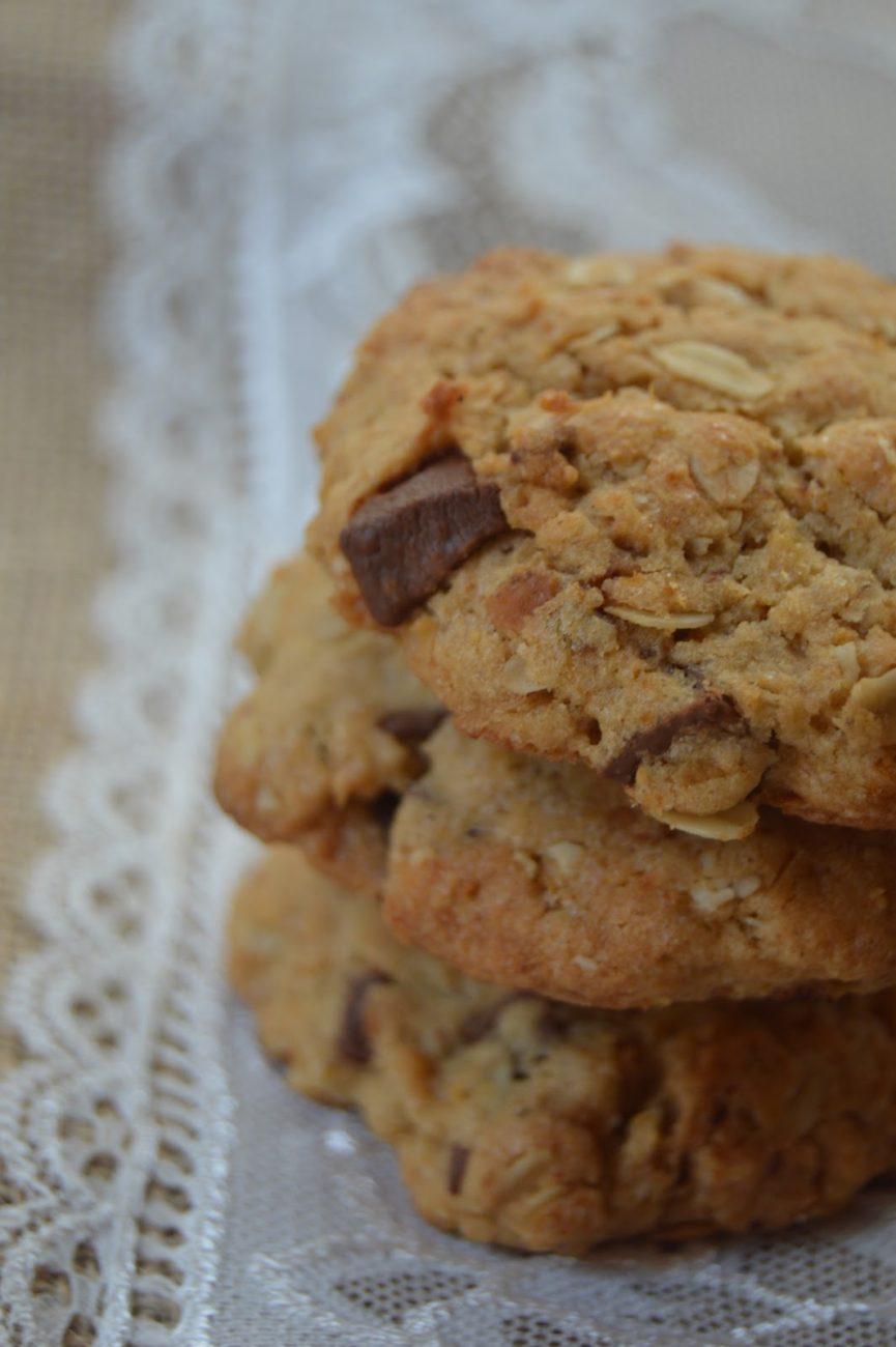Овесени бисквитки с тиква и шоколад