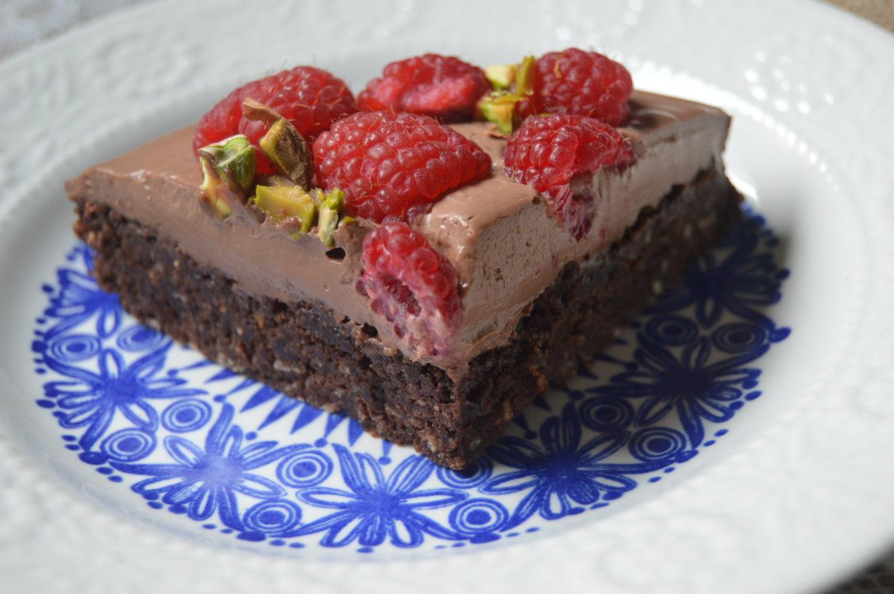 Шоколадов сладкиш с кокосово брашно