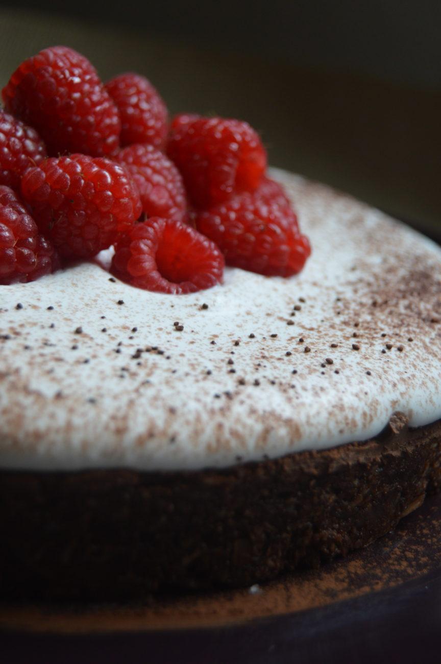Веган шоколадова торта